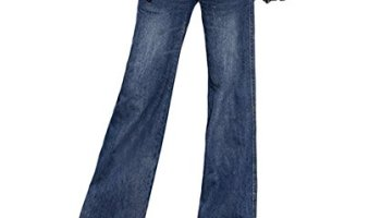 161c99a75bc90c AvaCostume Women's Retro Slim Fit Bell-Bottom Wide Flared Jeans ...