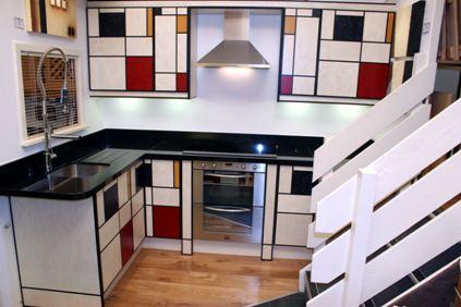 Plongez la maison dans lunivers de Mondrian