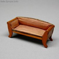 Antique Dolls House Furniture / Antique German Dollhouse