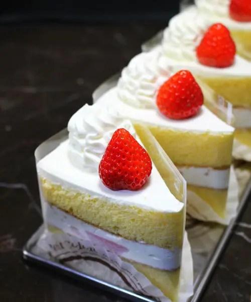 ベルジュールのショートケーキ