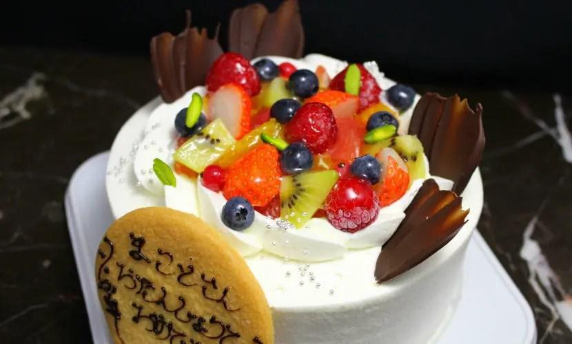 deco4 - フルーツのデコレーションケーキ