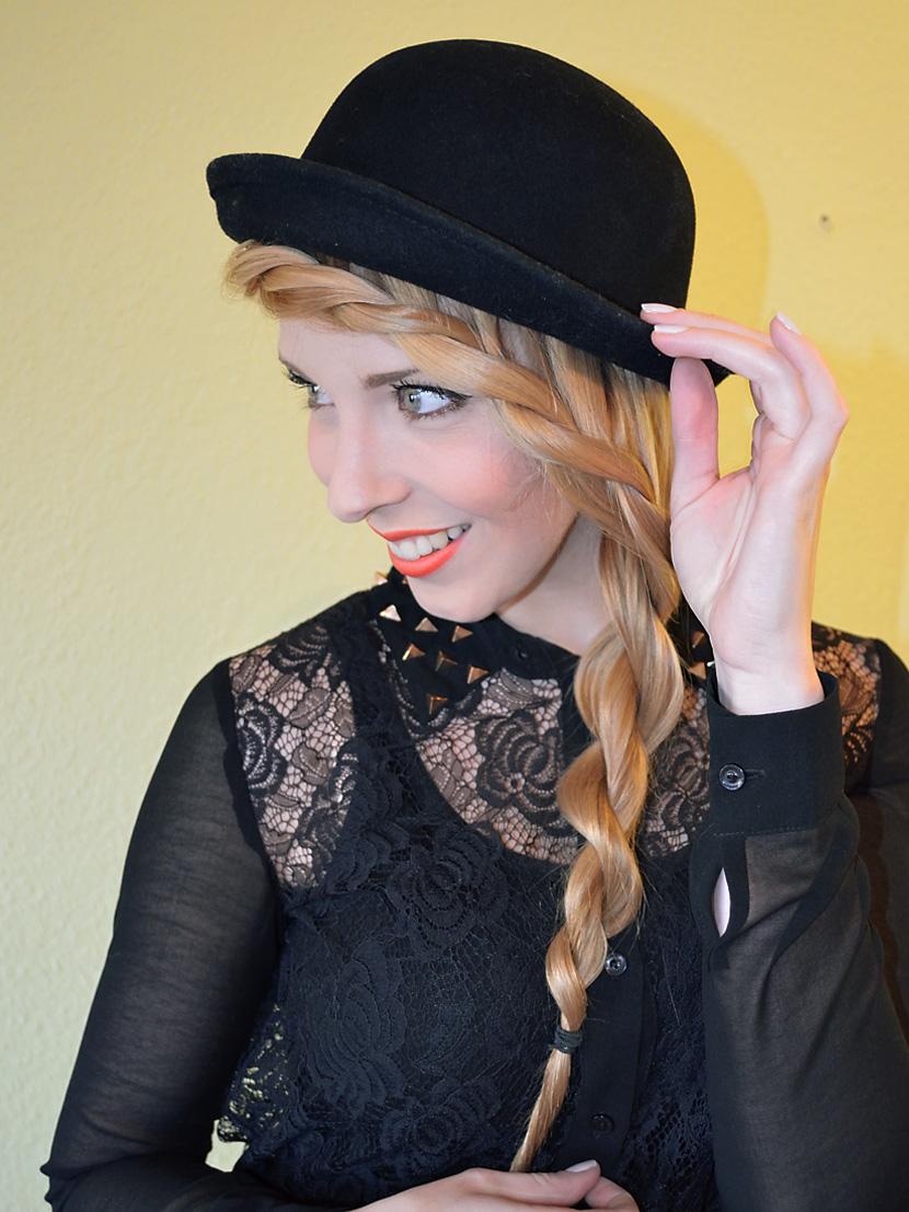 Frisuren Inspiration Hut Belle Mélange