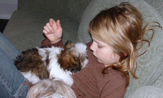 Sweet Puppy with Felicity