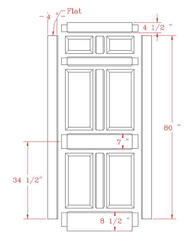 Door Dimensions & Wednesday 8 November 2017 Front Doors