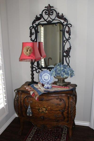 Belle Bleu Interiors-French Country Entry Hall 1