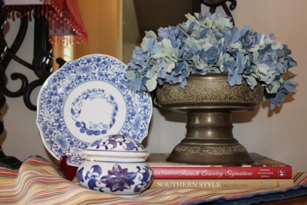 Belle Bleu Interiors French Country Entry Hall 6