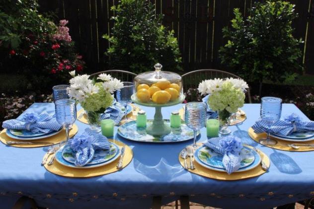 Belle Bleu Interiors Hydrangea Tablescape 19