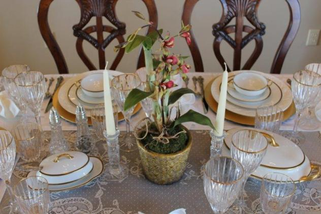 Belle Bleu Interiors Elegant Tablescape 8