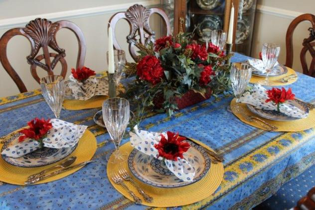 Belle Bleu Interiors French Country Tablescape 4