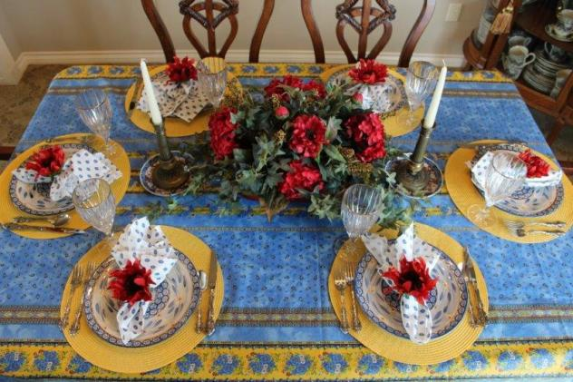 Belle Bleu Interiors French Country Tablescape 6