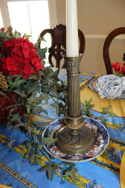 Belle Bleu Interiors French Country Tablescape 8