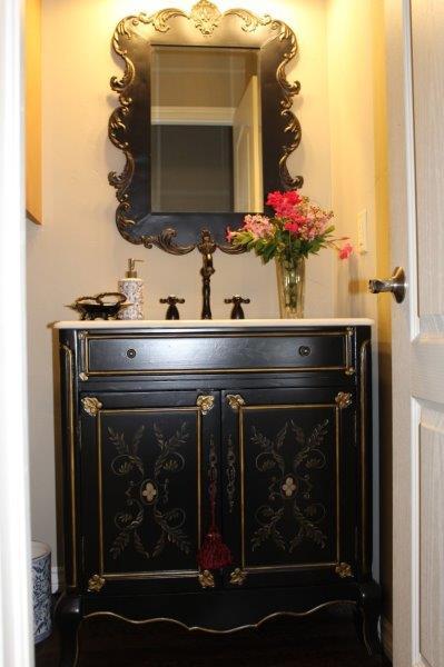 Belle Bleu Interiors Powder Bath 1f