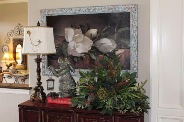 Belle Bleu Interiors Summer LIving Room 10