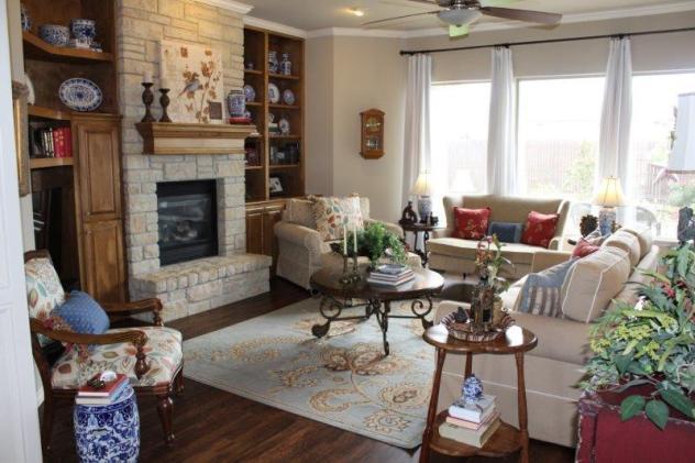 Belle Bleu Interiors Summer Living Room 18