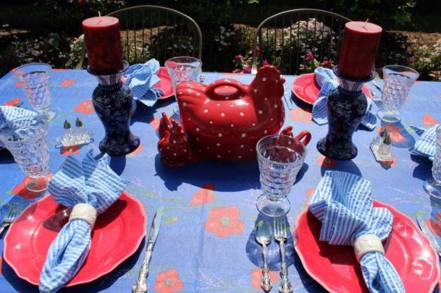 Belle Bleu Interiors Summer Tablescape 5