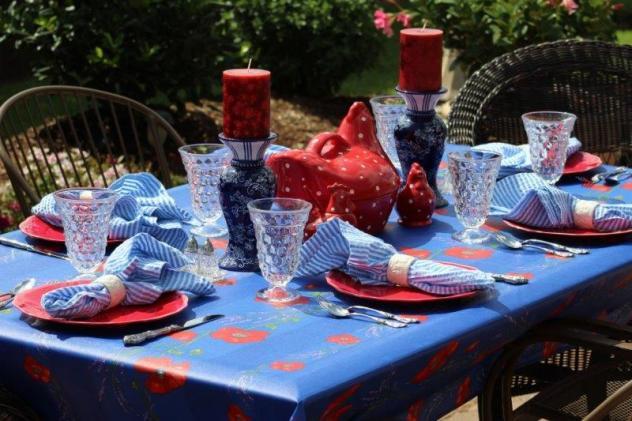 Belle Bleu Interiors Summer Tablescape 7