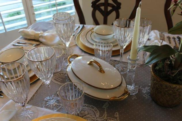 Bellle Bleu Interiors Elegant Tablescape 7