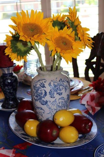 Belle Bleu Interiors Colorful Tablescape 8
