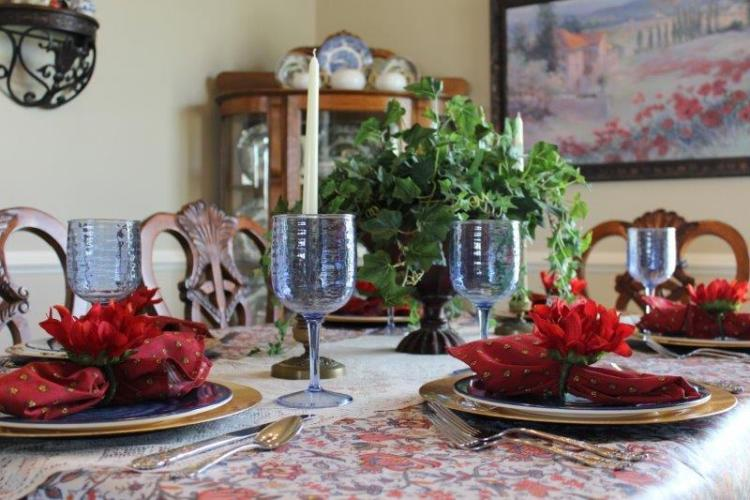 A TRANSITIONAL TABLESCAPE