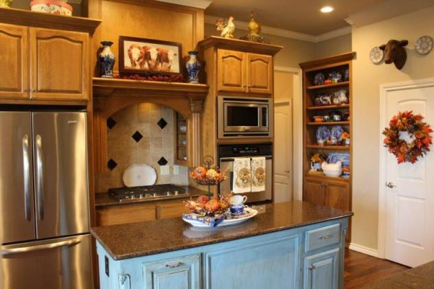 Belle Bleu Interiors Fall French Country Kitchen Tour 4