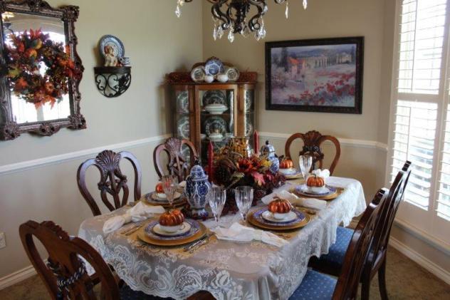 Belle Bleu Interiors Fall Tablescape 12