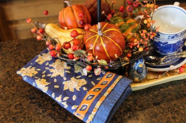 Belle Bleu Interiors Fall Tiered Tray 2