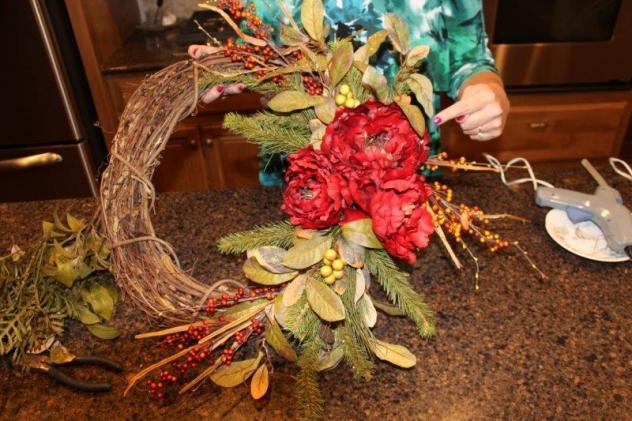 Belle Bleu Interiors Fall Wreath 24