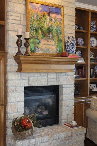 Belle Bleu Interiors French Country Living Room Fall Tour 12
