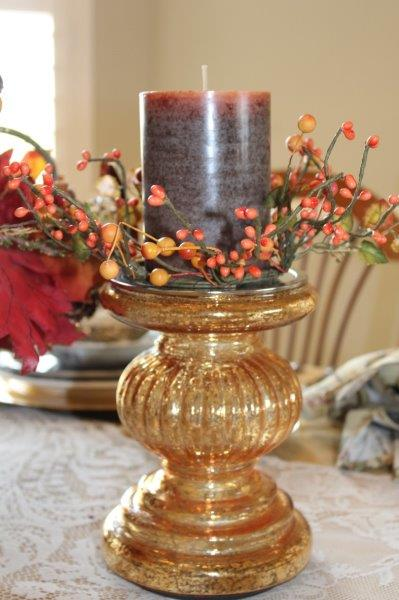 Belle Bleu Interiors Autumn Tablescape 11
