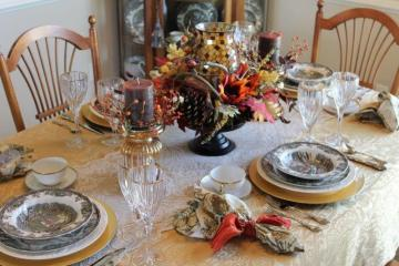 Belle Bleu Interiors Autumn Tablescape 18