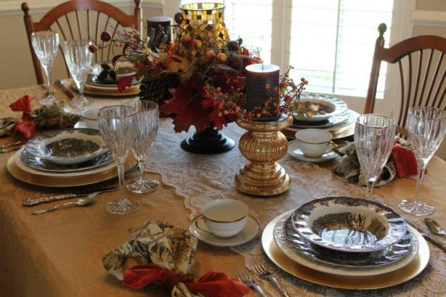 Belle Bleu Interiors Autumn Tablescape 19