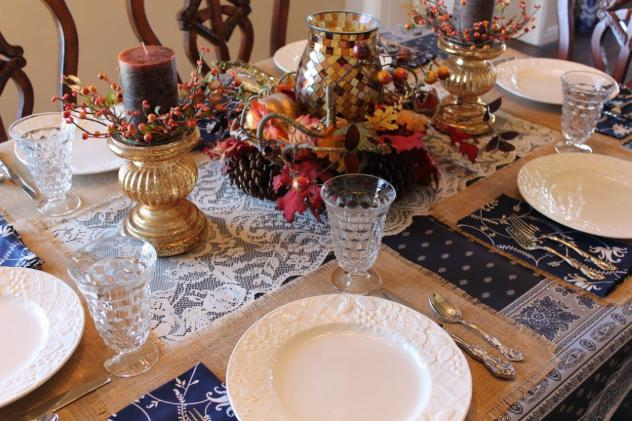 Belle Bleu Interiors Casual Autumn Dinner with Friends 3