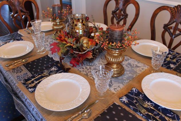 Belle Bleu Interiors Casual Autumn Dinner with Friends 5