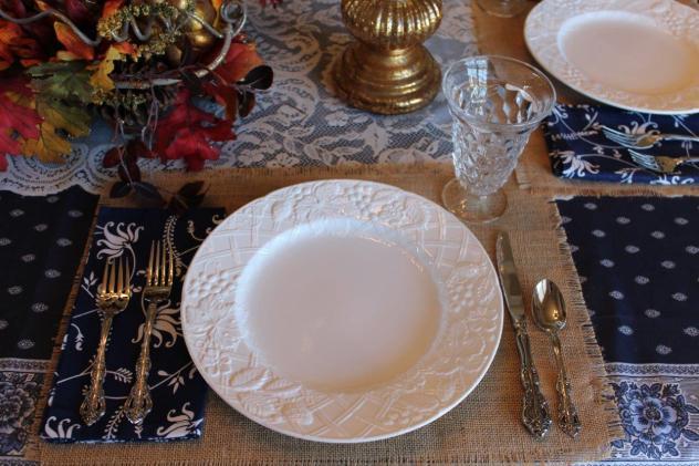 Belle Bleu Interiors Casual Autumn Dinner with Friends 7