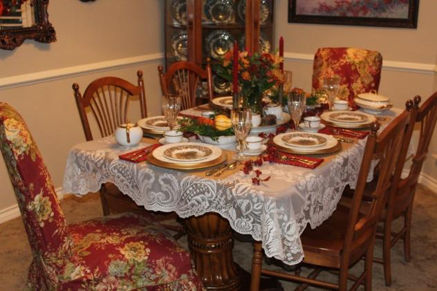 Belle Bleu Interiors Thanksgiving Table 14