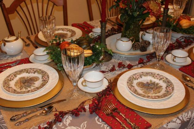Belle Bleu Interiors Thanksgiving Table 6