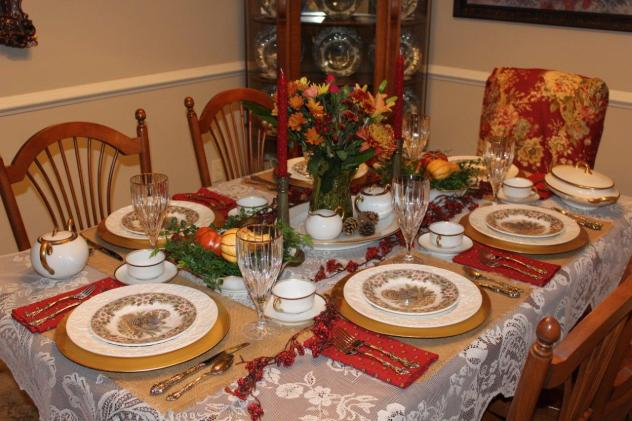 Belle Bleu Interiors Thanksgiving Table 8