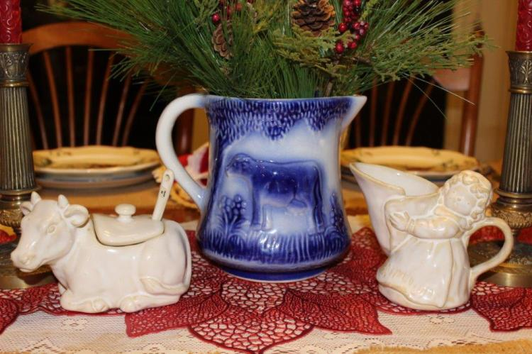 Belle Bleu Interiors Farmhouse Christmas Tablescape 10