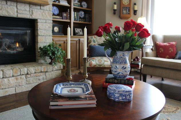 Belle Bleu Interiors Adding Touches of Red 4