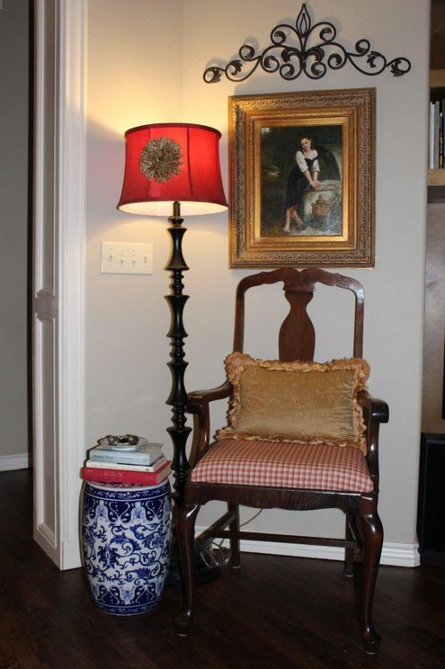 Belle Bleu Interiors Adding Touches of Red 7