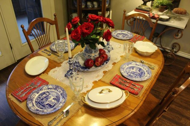 Belle Bleu Interiors Mr. Bleu's Birthday Dinner 15