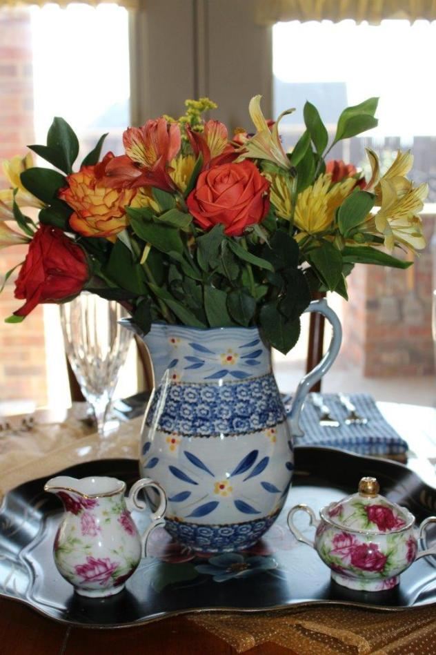 Belle Bleu Interiors A Cheerful and Bright Winter's Table 9
