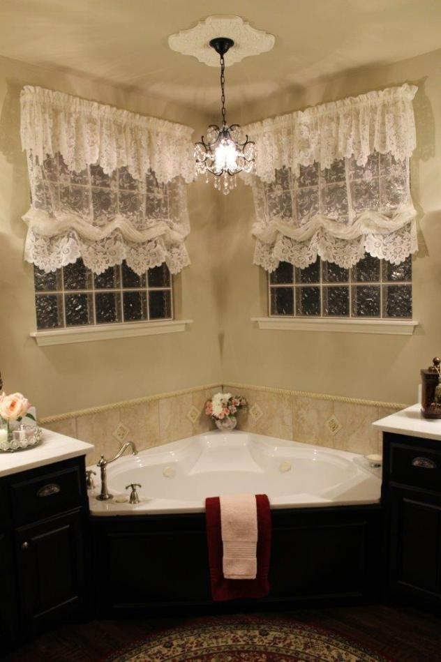 Belle Bleu Interiors French Country Master Bathroom 20