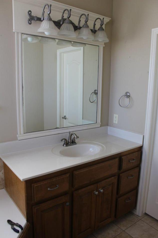 Belle Bleu Interiors French Country Master Bathroom 23