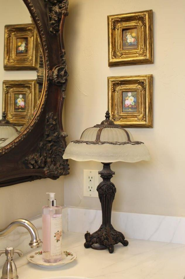 Belle Bleu Interiors French Country Master Bathroom 5
