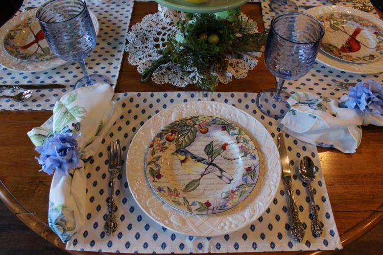 Belle Bleu Interiors Sunday Brunch Tablescape 11