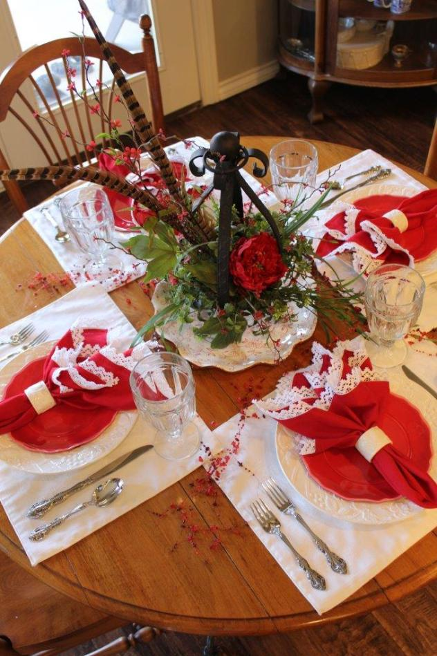 Belle Bleu Interiors Valentine's Table 11