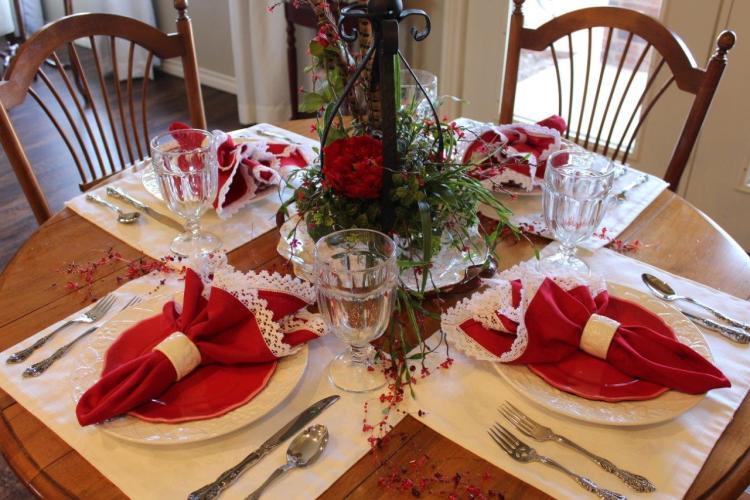 Belle Bleu Interiors Valentine's Table 7