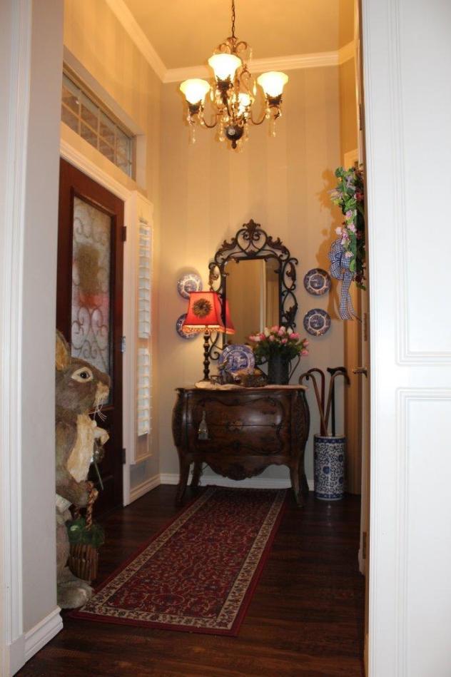 Belle Bleu Interiors Spring Foyer 1
