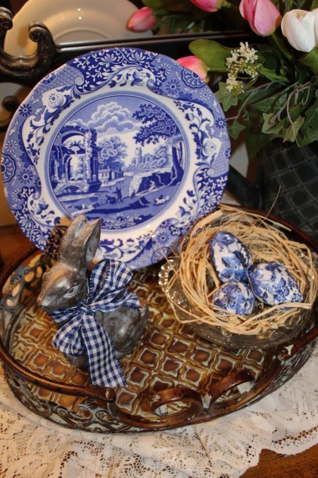 Belle Bleu Interiors Spring Foyer 5